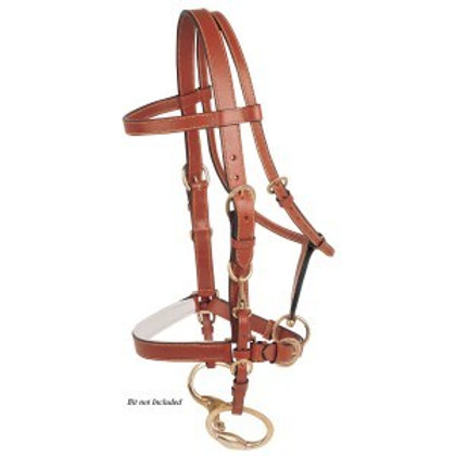 Jeremy and Lord Trail Ride Bridle Tan Full/Cob