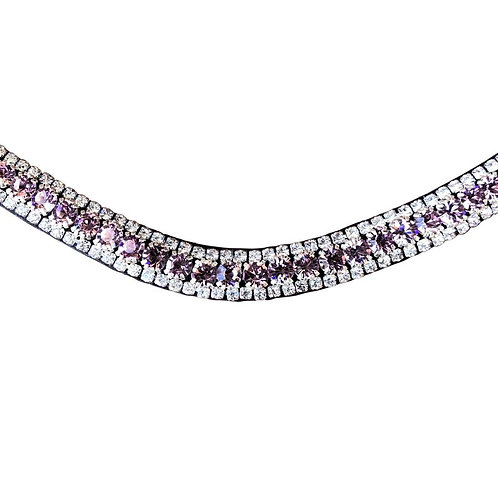 LUMIERE SOFT LAVENDER CRYSTAL BROWBAND