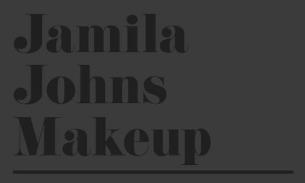Jamila Johns Makeup