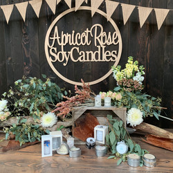 Apricot Rose Soy Candles