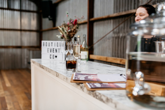 pop up bar geelong wedding