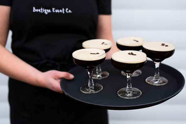 mobile bar hire geelong wedding espresso martini bar