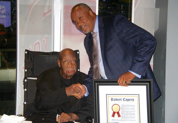First Cal Ramsey Legacy Award Winner Robert Capers