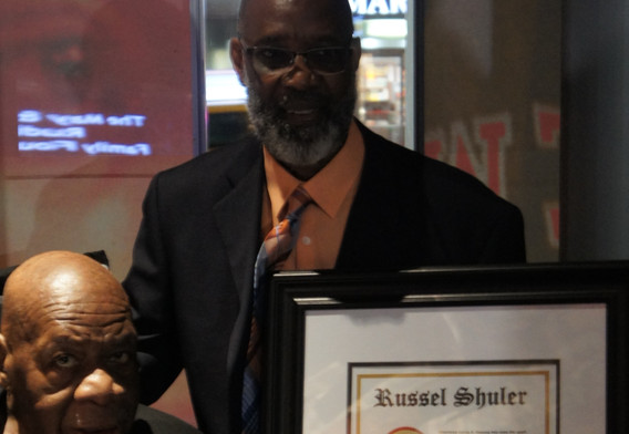 Honoree Russel Shuler