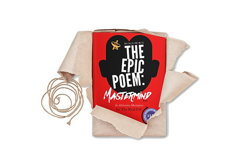 CLASS SET (20 Books) of The EPIC POEM: MASTERMIND (signed by Author)