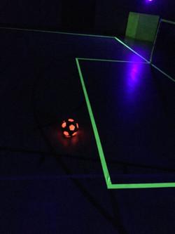 UV, Football, Preston, Glow, in, The