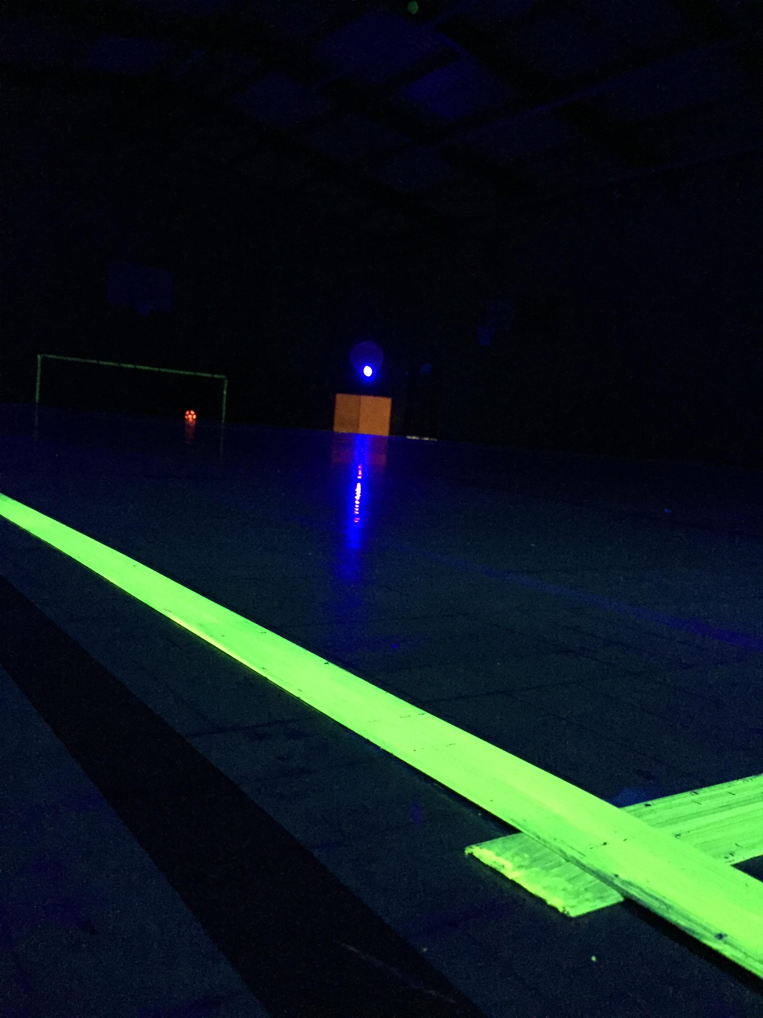 The illuminated pitch