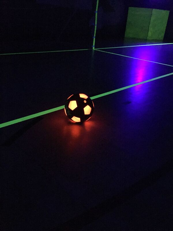 UV Glow in the dark football