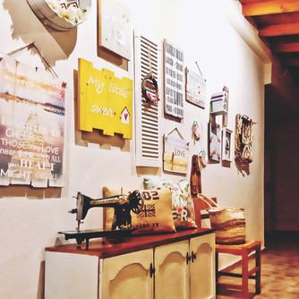 Lovely decor details at Kochyli Beach Studios