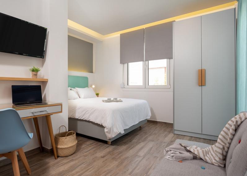 DOUBLE DELUXE GARDEN VIEW STUDIO WITH SOFA BED