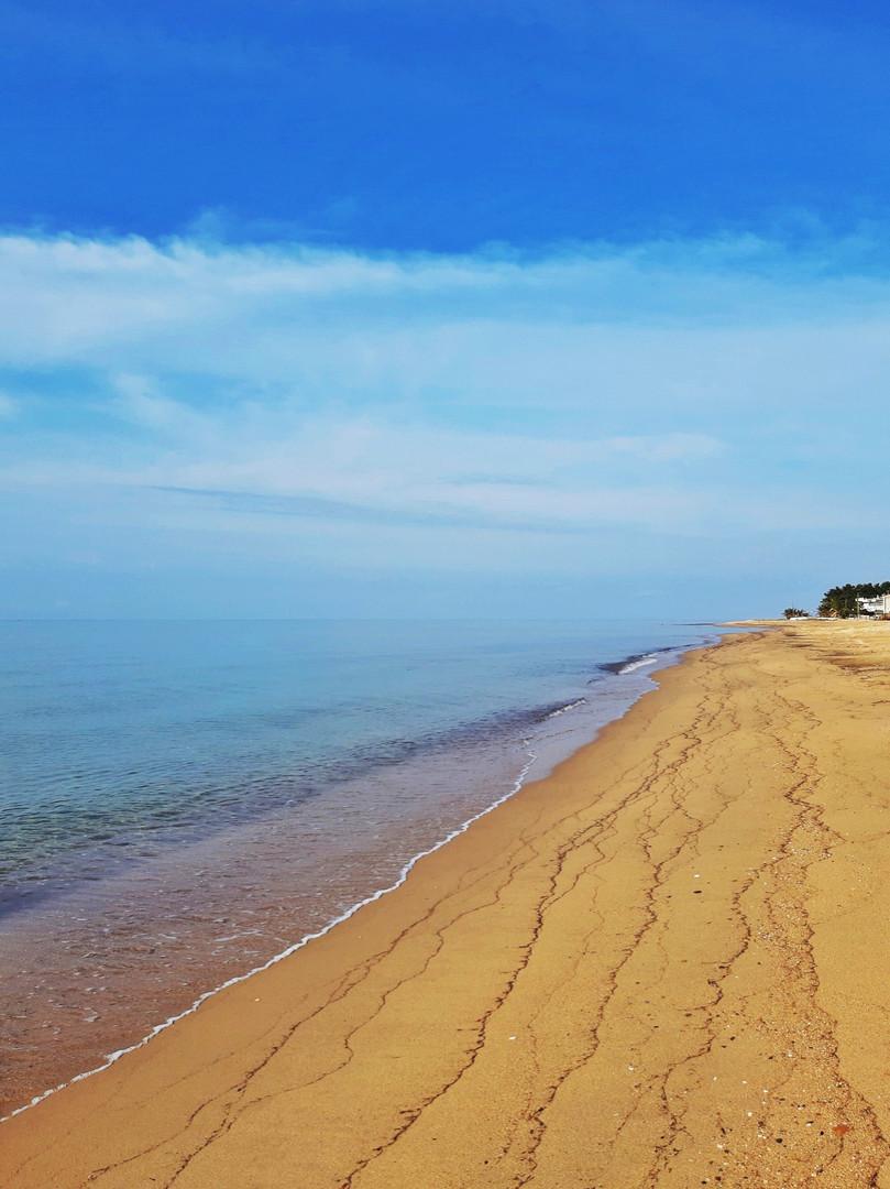 Пляж в Неа Плайя