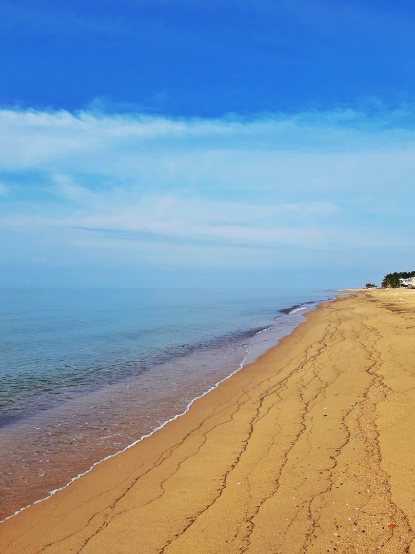 The beach of Nea Plagia