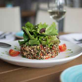 Quinoa with Seafood