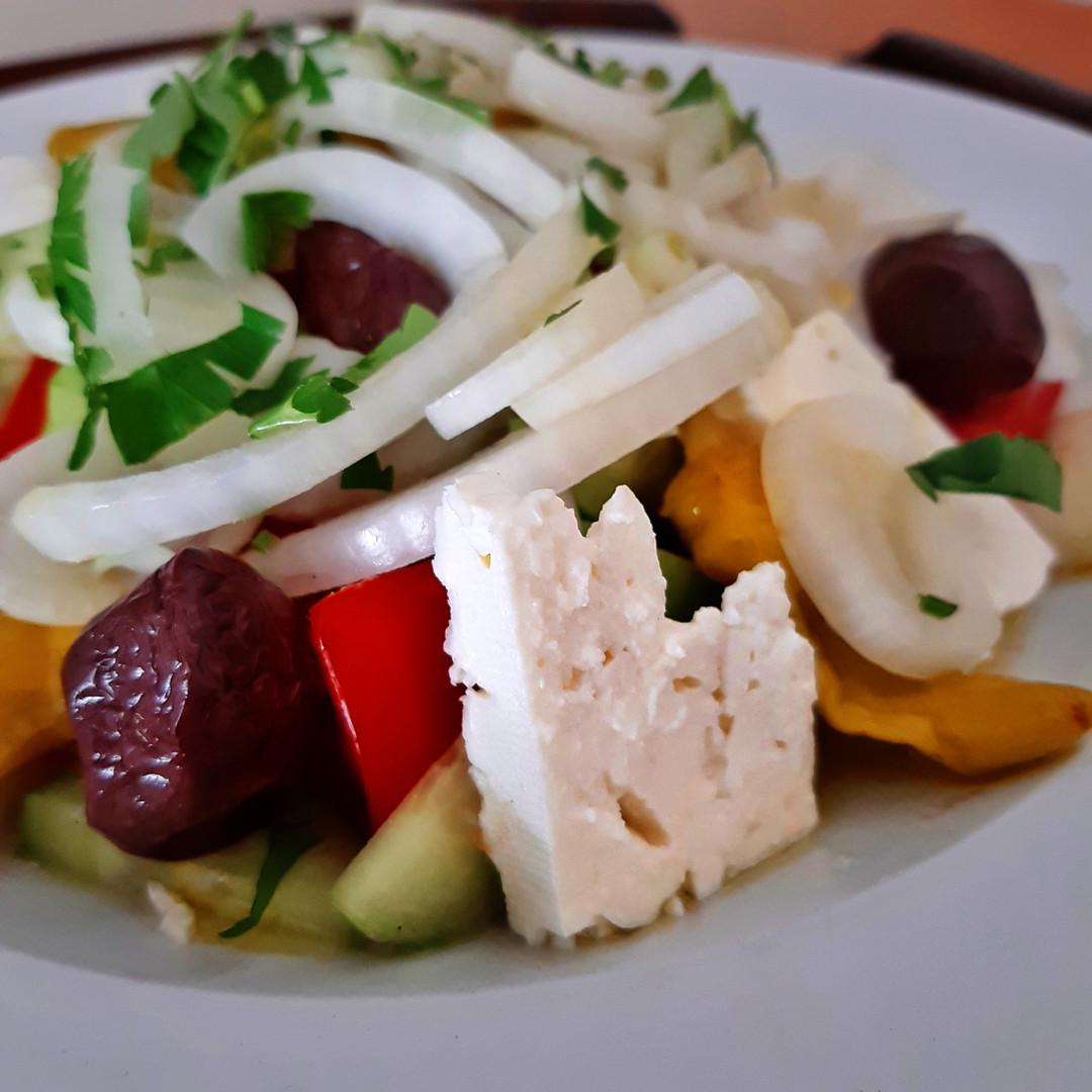 Всемирно известный Греческий салат