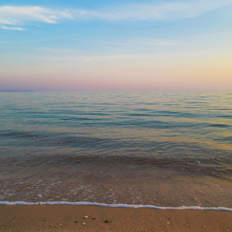 Sunset on Kochyli beach