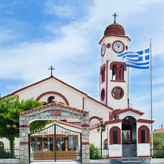 The church of Nea Plagia