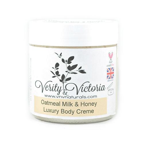 Oatmeal Milk & Honey Luxury Body Creme