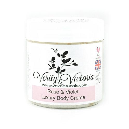 Rose & Violet Luxury Body Creme