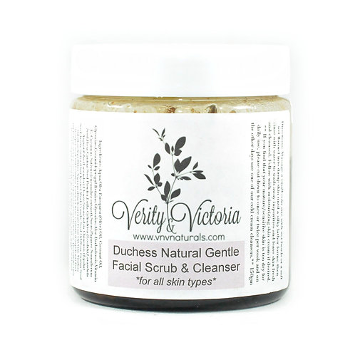 Duchess Natural Gentle Facial Scrub & Cleanser