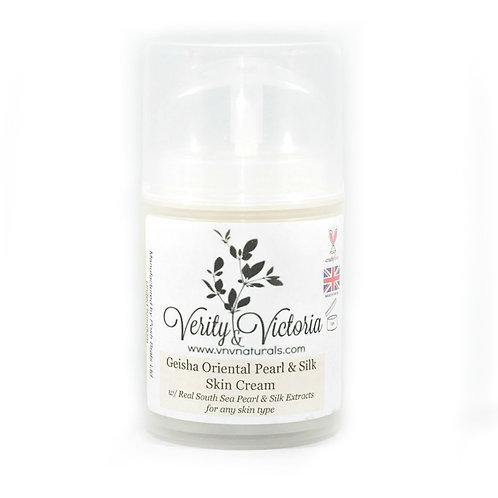 Geisha Oriental Pearl & Silk Skin Cream