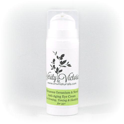 Palmarosa Geranium & Neroli Anti-Aging Eye Cream