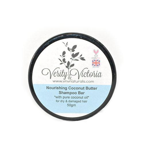 Nourishing Coconut Butter Shampoo Bar