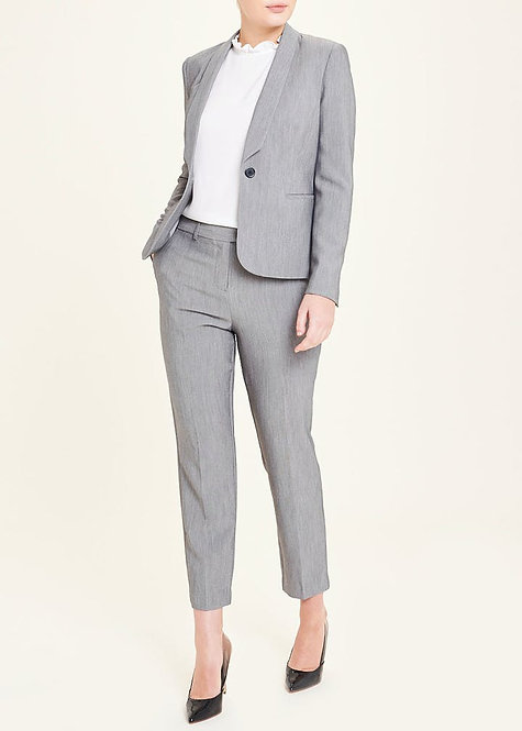 Grey tapered pants suit