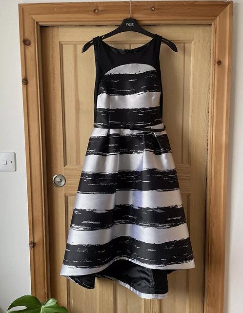 Coast Dipped Hem Striped Dress