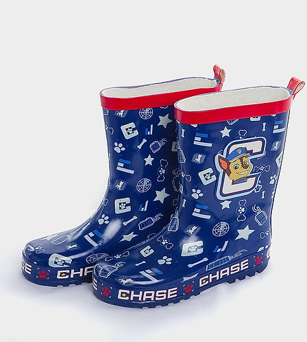 Blue character wellies
