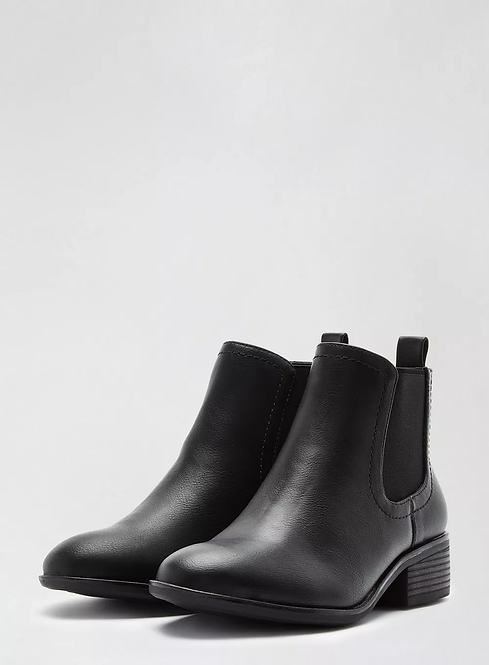 Black Ankle Chelsea Boots