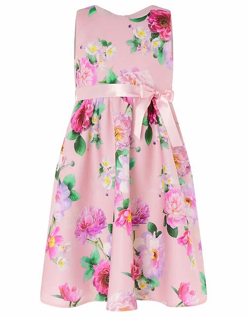 Girls floral dress