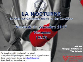Soirée La Nocturne du Club des Gentlemen-Riders et des Cavalières