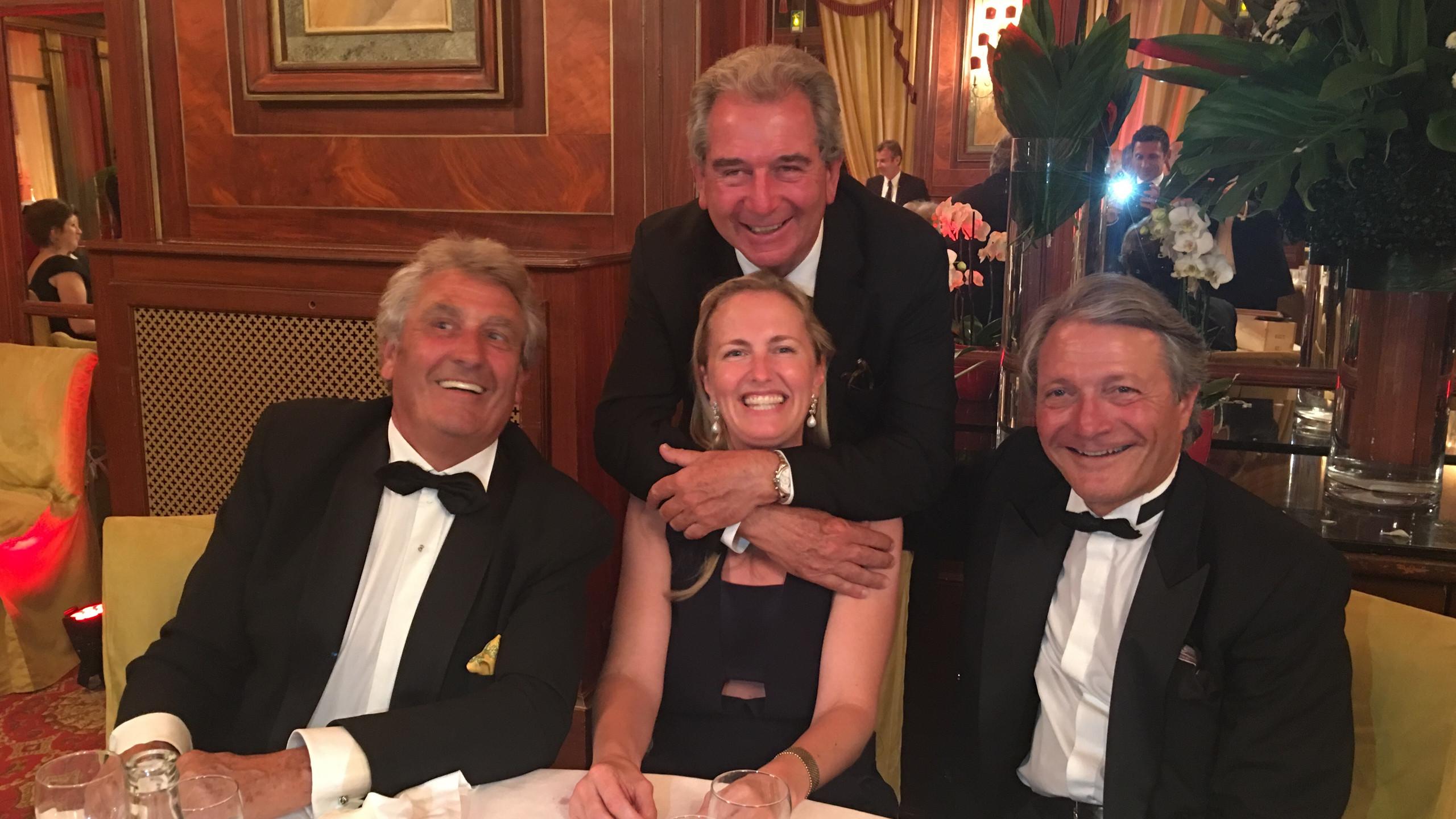 Jean-Michel Descamps, Jean-Claude Rouget, Ingrid Lacoste-Teisseire et Philippe Augier