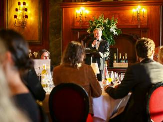 Allocution d'accueil du Président Gérard de Chevigny - week-end international des amateurs à Dea