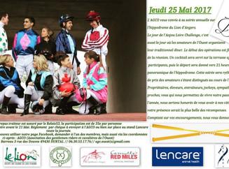 Appel et rappel : la Soirée de l'AGCO au Lion d'Angers, proche des guichets fermés !