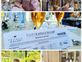 Déjeuner à Longchamp