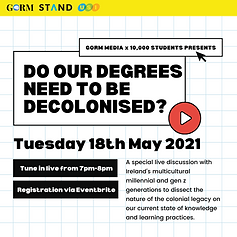 Do our degrees need to be decolonised Go
