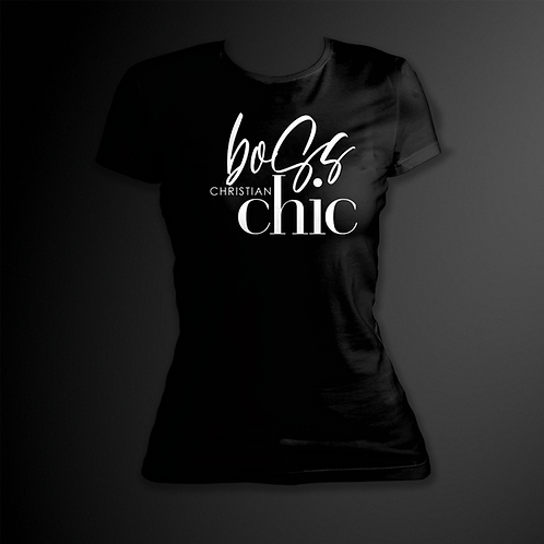 Boss Christian Chic Black Tee