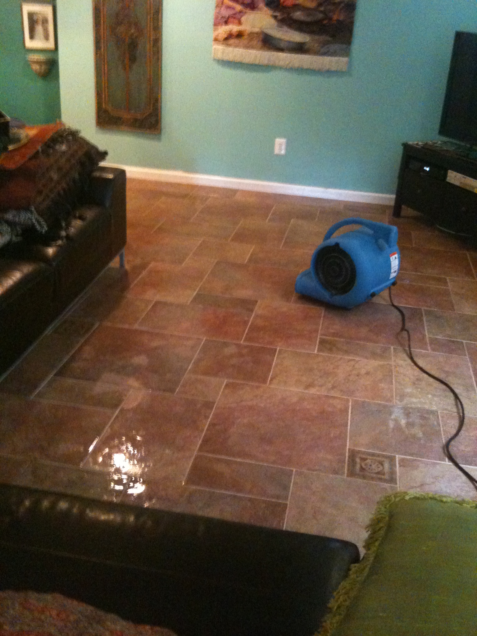 Water damage and Restoration