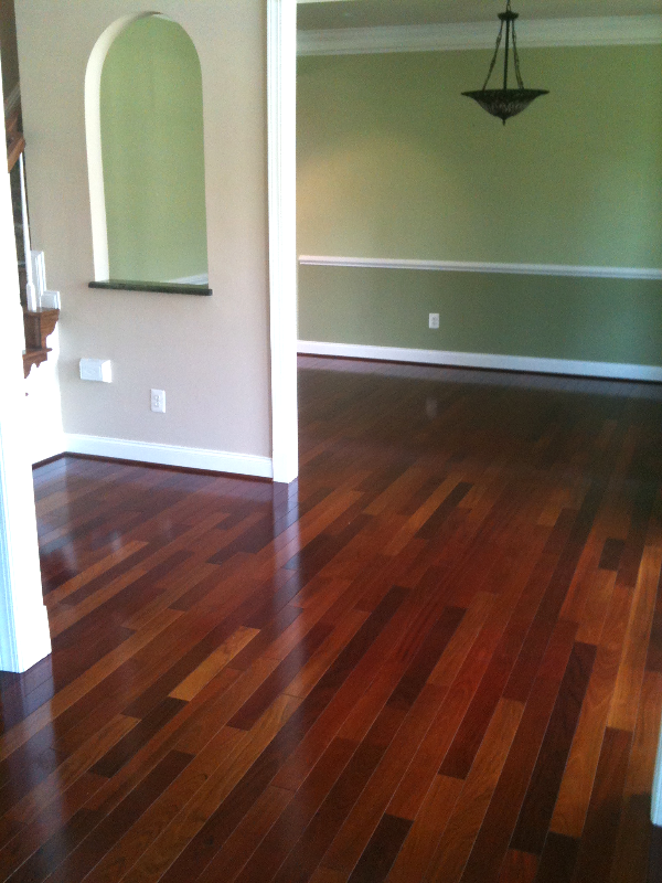 HARDWOOD FLOOR SAND AND FINISH