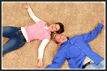 Happy Customer On Carpet