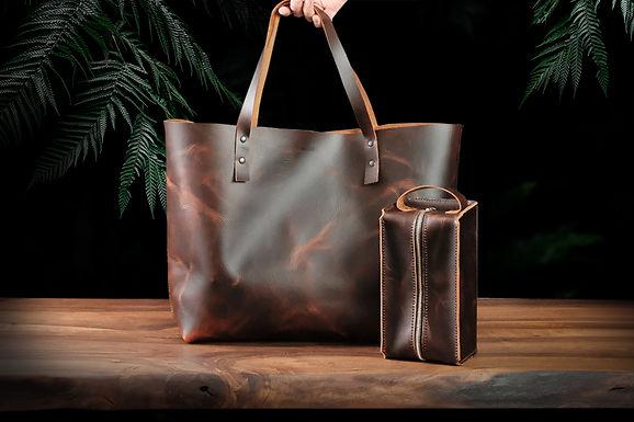 Rhonda Tote Bag + Bruno Care Bag / Jungle