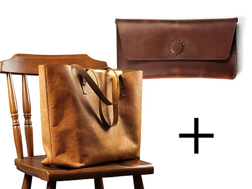 Rhonda Tote Bag + Nola Wallet