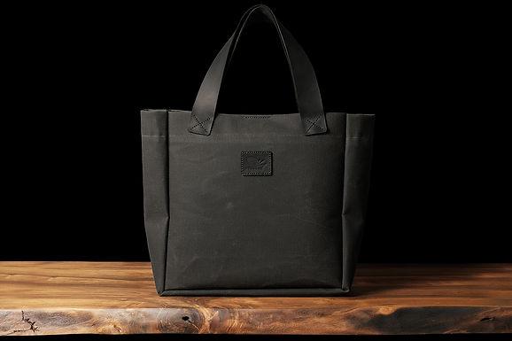 Kansas - Waxed Canvas Tote Bag