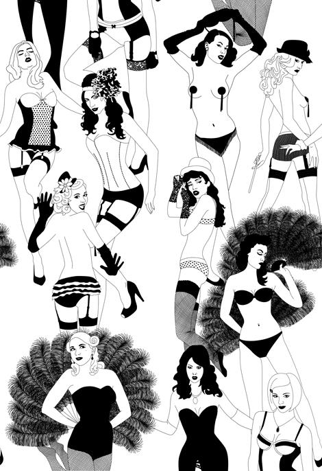 DuPenny - Burlesque Linen