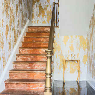 Flavor Paper stairwell wallpaper