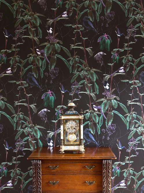 Witch and Watchman Folia Dark Wallpaper