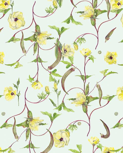 Annie Moran - Okra Floral