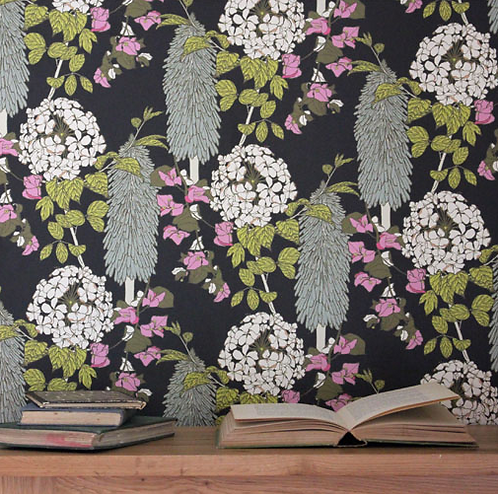 Abigail Borg Polka Polka Wallpaper