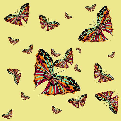 Sean Yseult - Oasaka Butterfly on Velvet